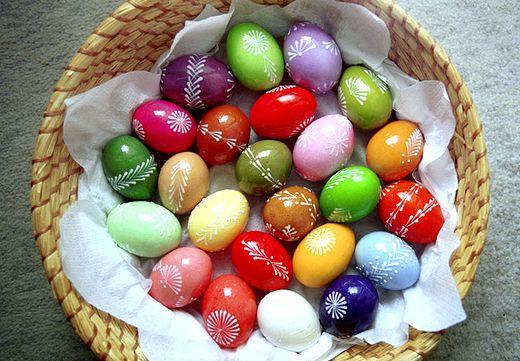 Як фарбувати яйця на пасху? Фарбуємо яйця.