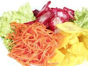 Консервовані салати овочеві