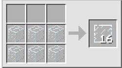 Як зробити скляну панель в майнкрафт?