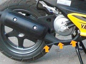 Як прибрати обмежувач швидкості на скутері