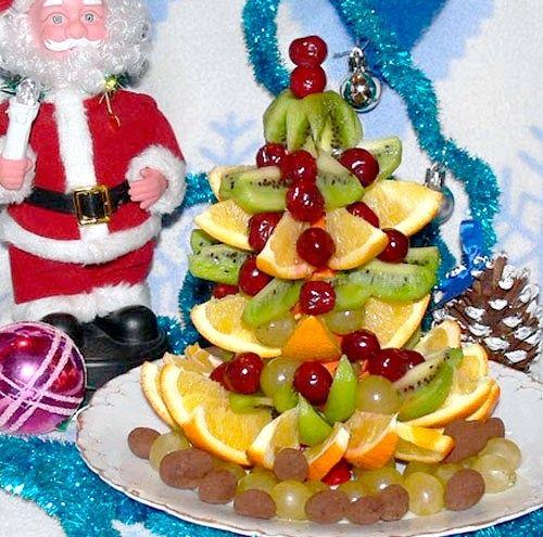 зробити акцент на овочеві та фруктові страви
