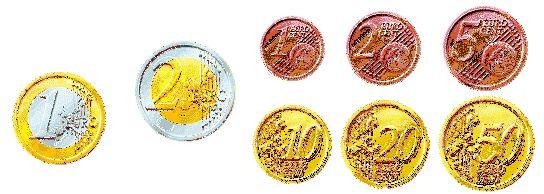 Як виглядають монети євро (їх зображення)?