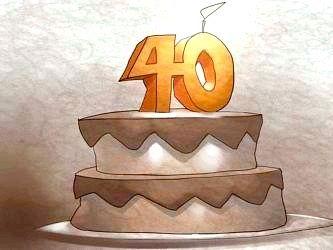 Чому не можна відзначати 40 років?
