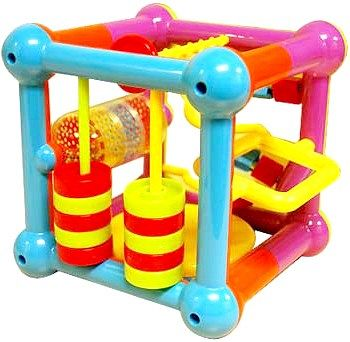 Розвиваюча іграшка-подушка для дітей від 1 до 3 років