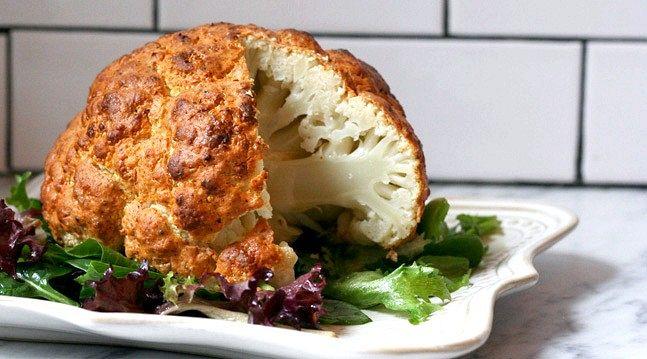 Завдяки цим рецептом запеченої цвітної капусти ти станеш королем кухні!