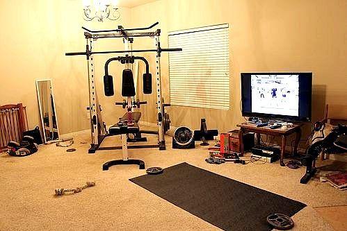 Як зробити спортзал будинку?