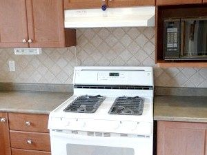 Газова плита на кухні