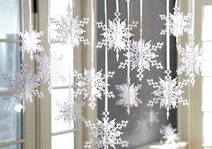Як вирізати красиві сніжинки