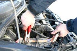 Підключення клем до акумулятора авто