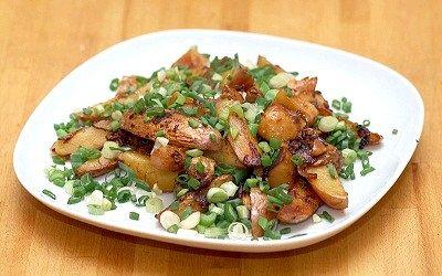 Як правильно смажити картоплю