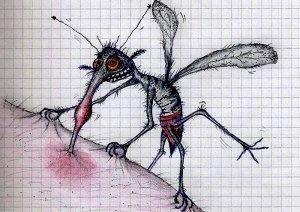 Кого кусають комарі?
