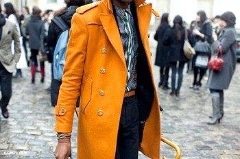 З яким кольором поєднується помаранчевий?