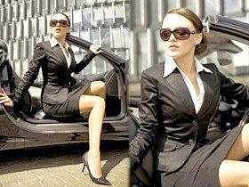 Жіночий діловий костюм або офісний одяг для жінок, для дівчат